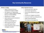key community resources