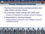 privacy training and awareness