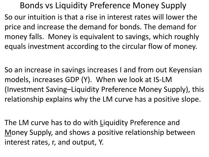 Bonds vs