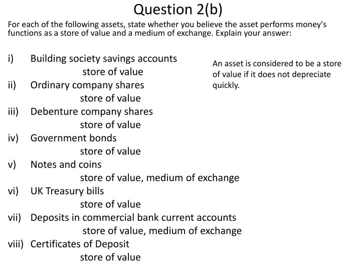 Question 2(b)