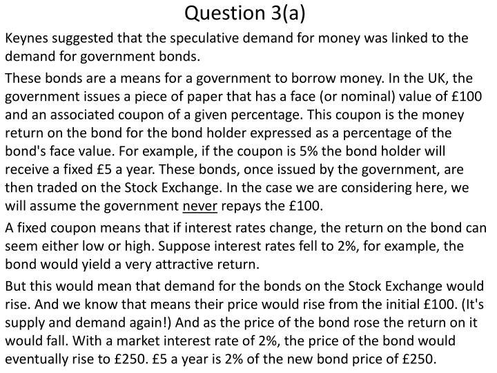 Question 3(a)