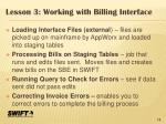 lesson 3 working with billing interface1