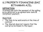 6 1 property financing bai bithaman ajil