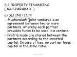 6 2 property financing musyarakah
