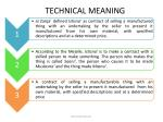 technical meaning