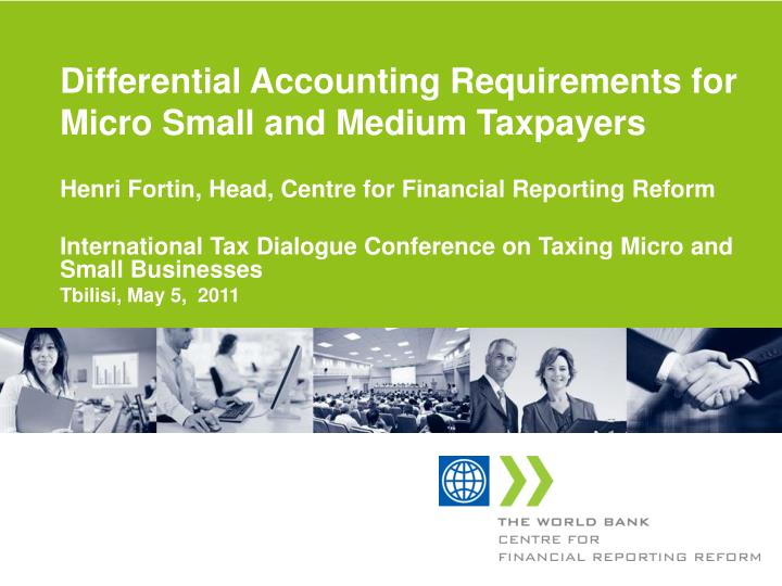 differential accounting requirements for micro small and medium taxpayers n.