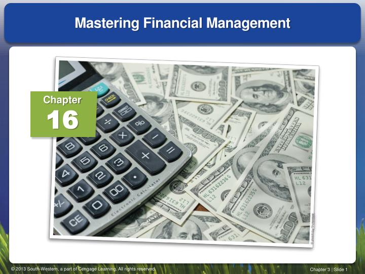 mastering financial management n.