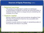 sources of equity financing cont2