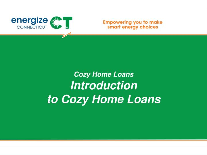 Cozy Home Loans