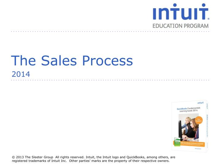 the sales process n.