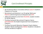 core enrollment principles