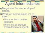 agent intermediaries