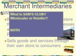 merchant intermediaries