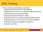 saq training