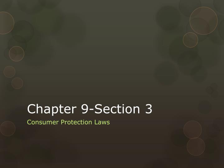chapter 9 section 3 n.
