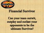 financial survivor