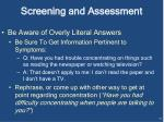 screening and assessment1
