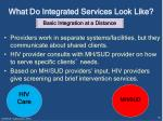 what do integrated services look like2