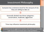 investment philosophy