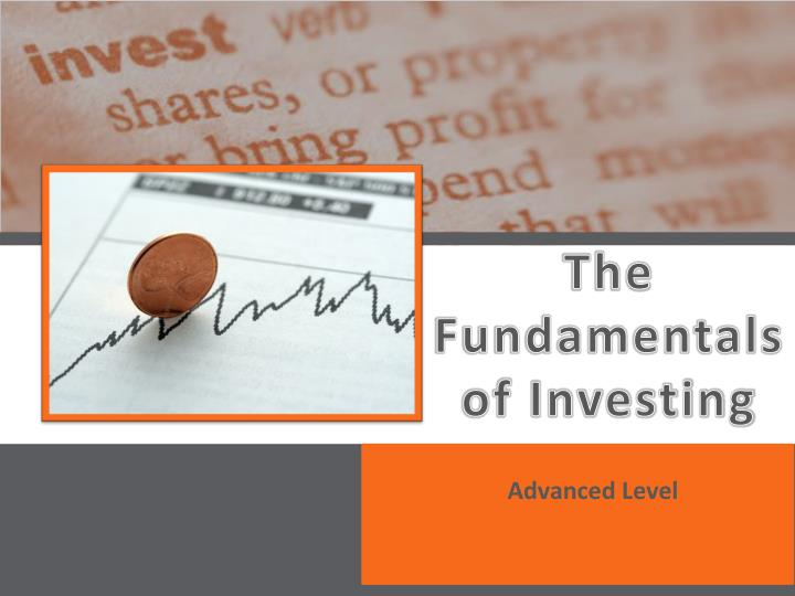 the fundamentals of investing n.