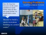 solving problems local government decision1