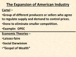 the expansion of american industry3
