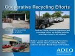 cooperative recycling efforts