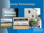 county partnerships