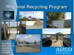 regional recycling program