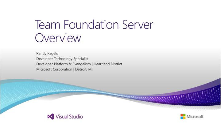 team foundation server overview n.