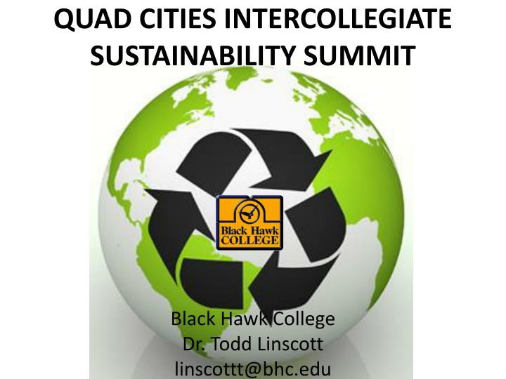 quad cities intercollegiate sustainability summit n.