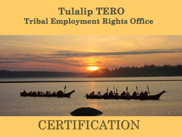 tulalip tero tribal employment rights office n.