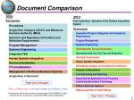 document comparison