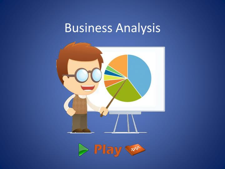 business analysis n.