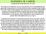 economics of landuse1