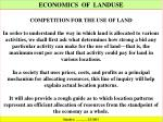 economics of landuse2