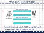 attack on origin referer header