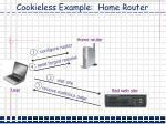 cookieless example home router