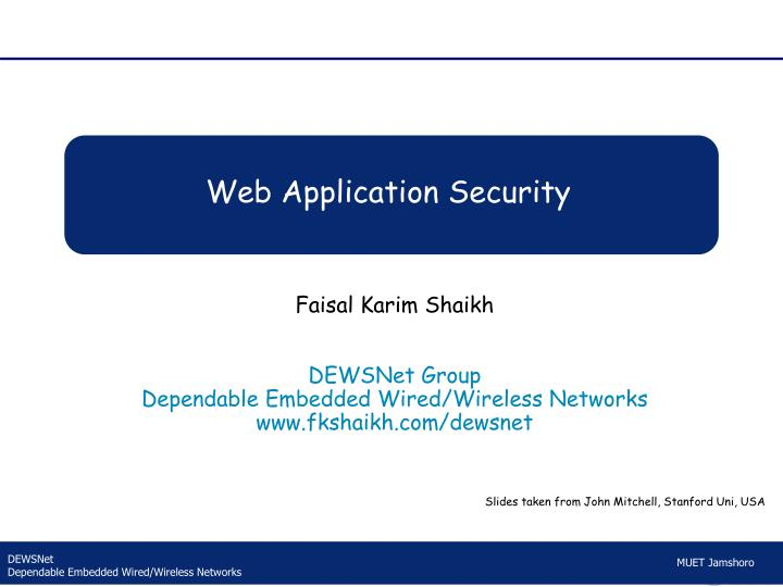 web application security n.