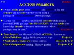 access projects
