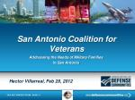 san antonio coalition for veterans
