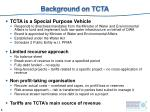 background on tcta