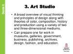 3 art studio