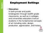 employment settings1