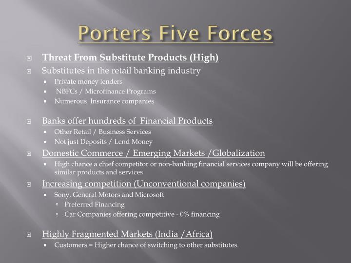 porters five forces on retail industry Michael porter's model in retail sector 1 michael porter's five forces model in retail industry under the guidance of: anand patil sir.