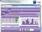 bi portal stylesheet inheritance