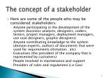 the concept of a stakeholder2