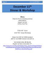 december 11 th dinner workshop1