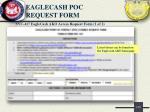 eaglecash poc request form