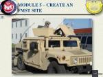 module 5 create an fmst site